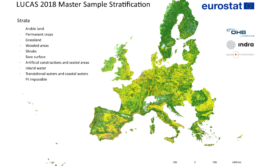 "LuxSpace successfully concluded the project ""Stratification for the LUCAS 2018 Master"""